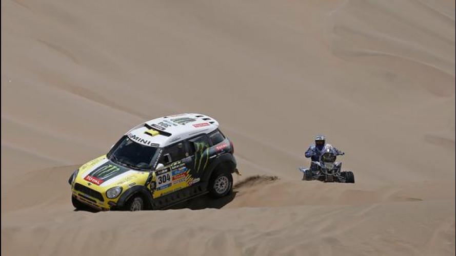 Dakar 2014, Tappa 9: quattro MINI al comando