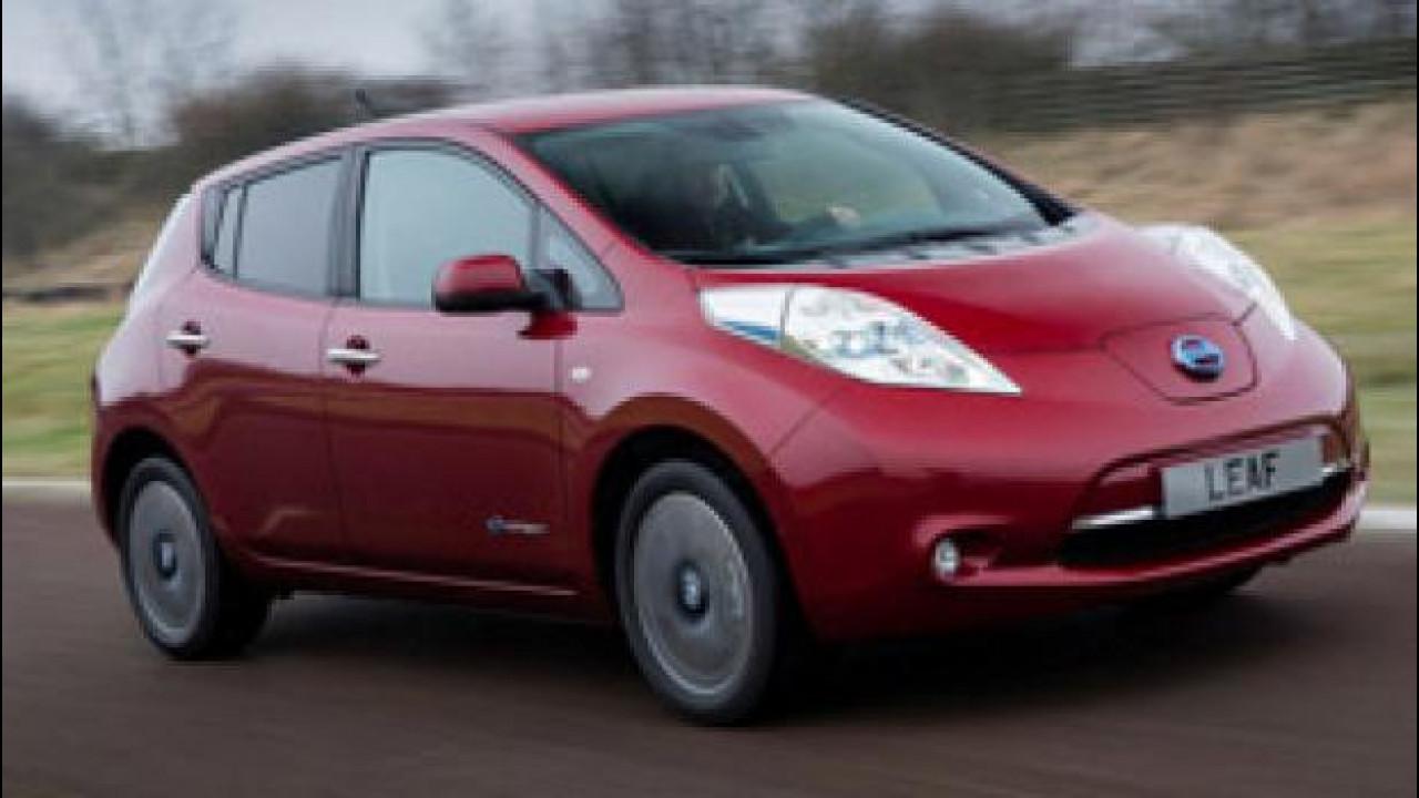 [Copertina] - Nissan Leaf raggiunge il record di 100.000 unità vendute