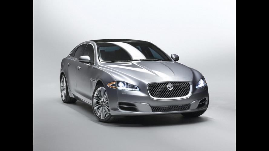 Jaguar XJ: i prezzi per l'Italia