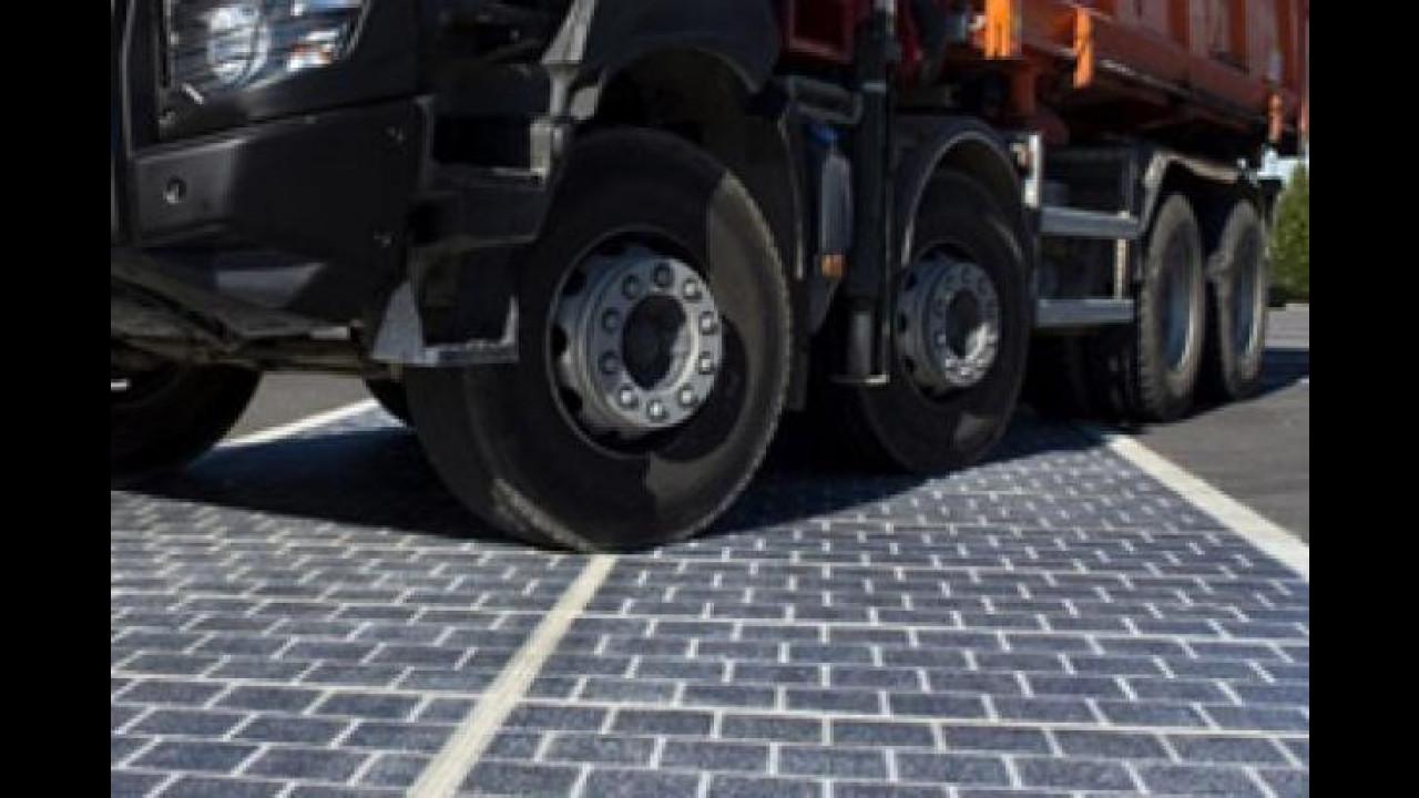 [Copertina] - Energia elettrica? In Francia si ricava dalle strade...