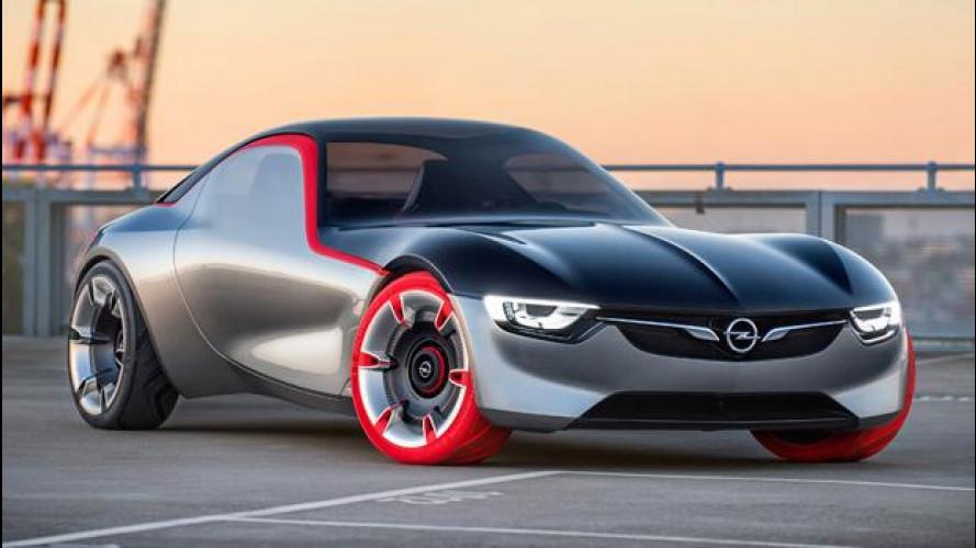 Opel GT Concept, discendente di razza