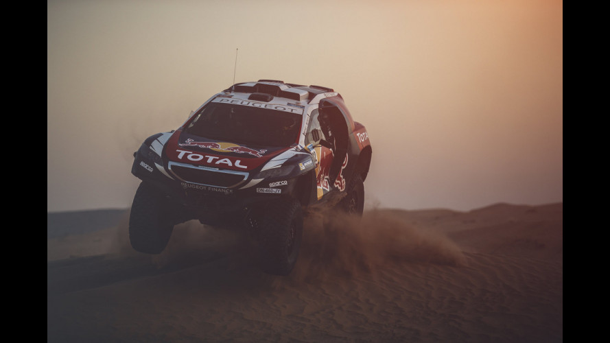 Peugeot 2008 DKR, fra gli sterrati del Silk Road Rally