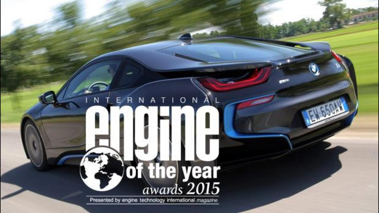 [Copertina] - Motore dell'anno 2015, vince il 1.5 della BMW i8