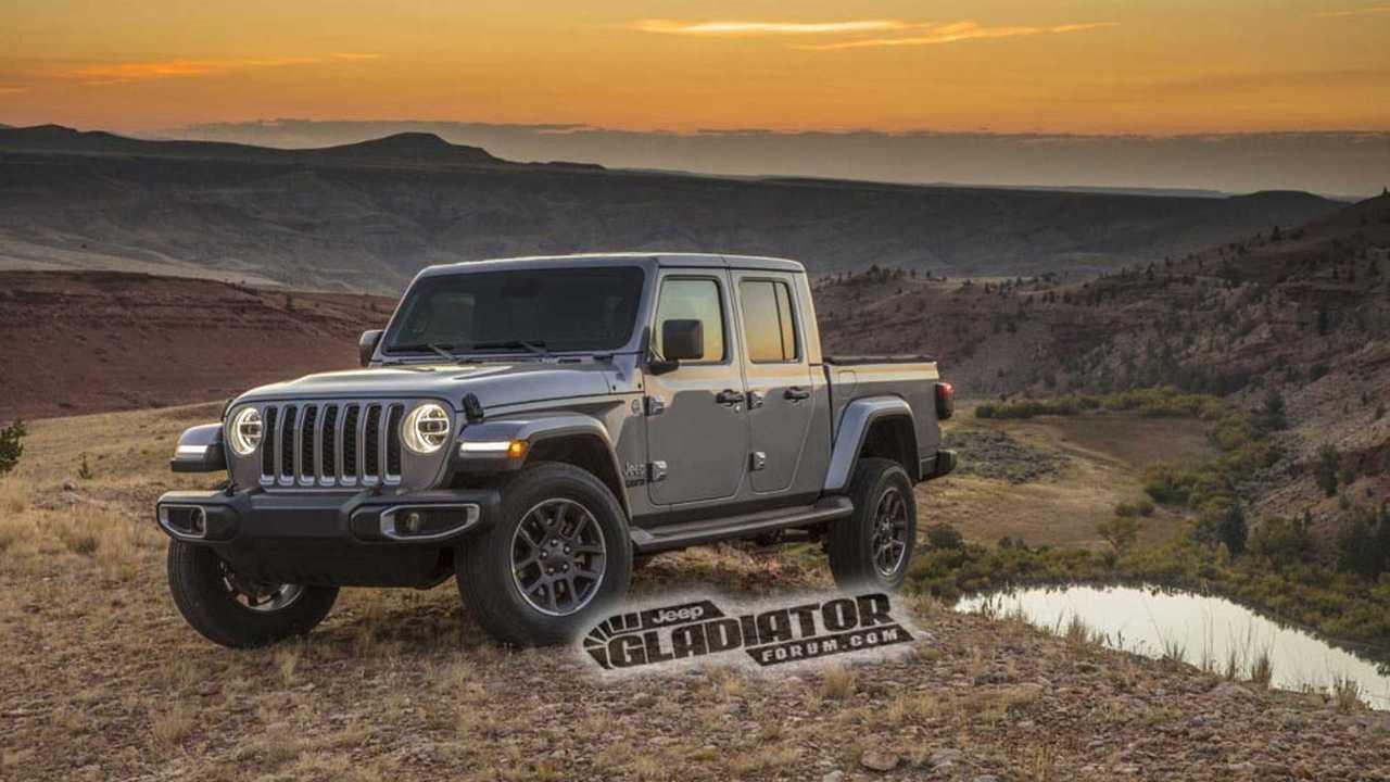 Jeep Gladiator 2020 - Fotos vazadas