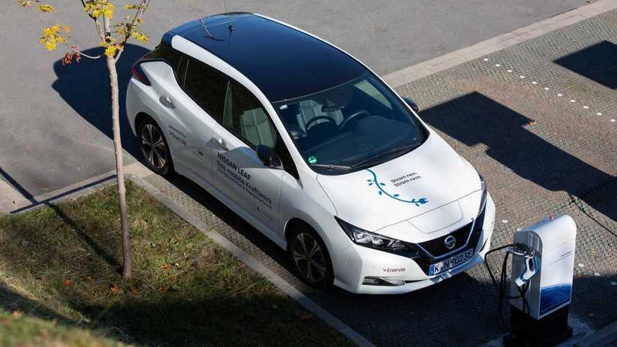 In Germania la Nissan Leaf è certificata per ricaricare la rete elettrica