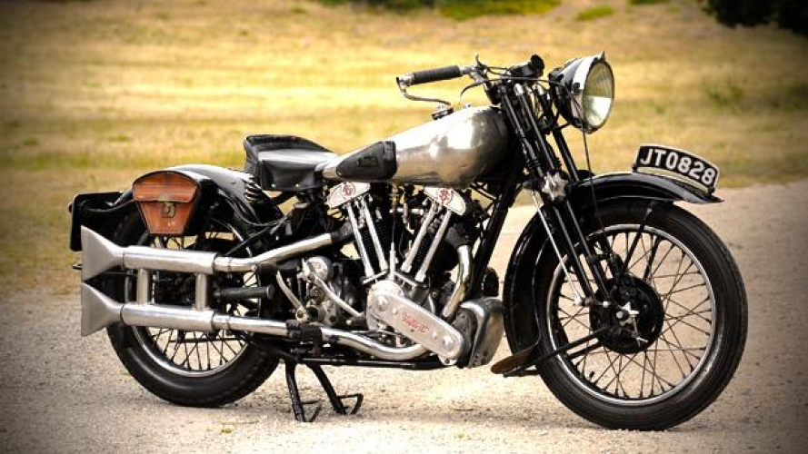 Brough Superior SS 100: le magnifiche 7 di Lawrence d'Arabia