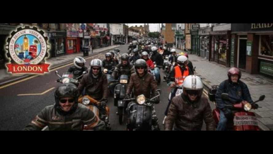 Vespa World Days 2012: si è chiusa a Londra la 6° edizione