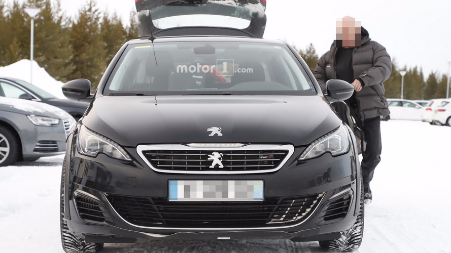 2018 Peugeot 508 photos espion