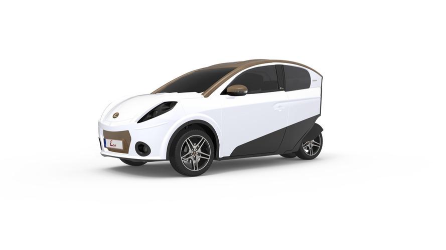 Ecar - Une nouvelle voiture électrique venue de Belgique