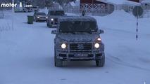 Mercedes G-Class Spy VIdeo