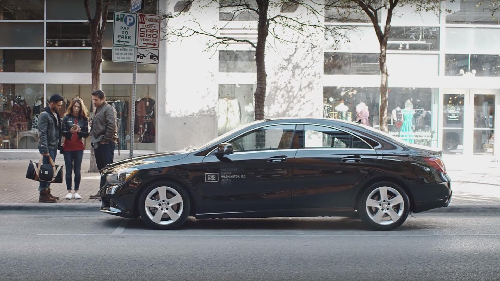 Car2go Says Adding Mercedes Sedan Suv A No Brainer