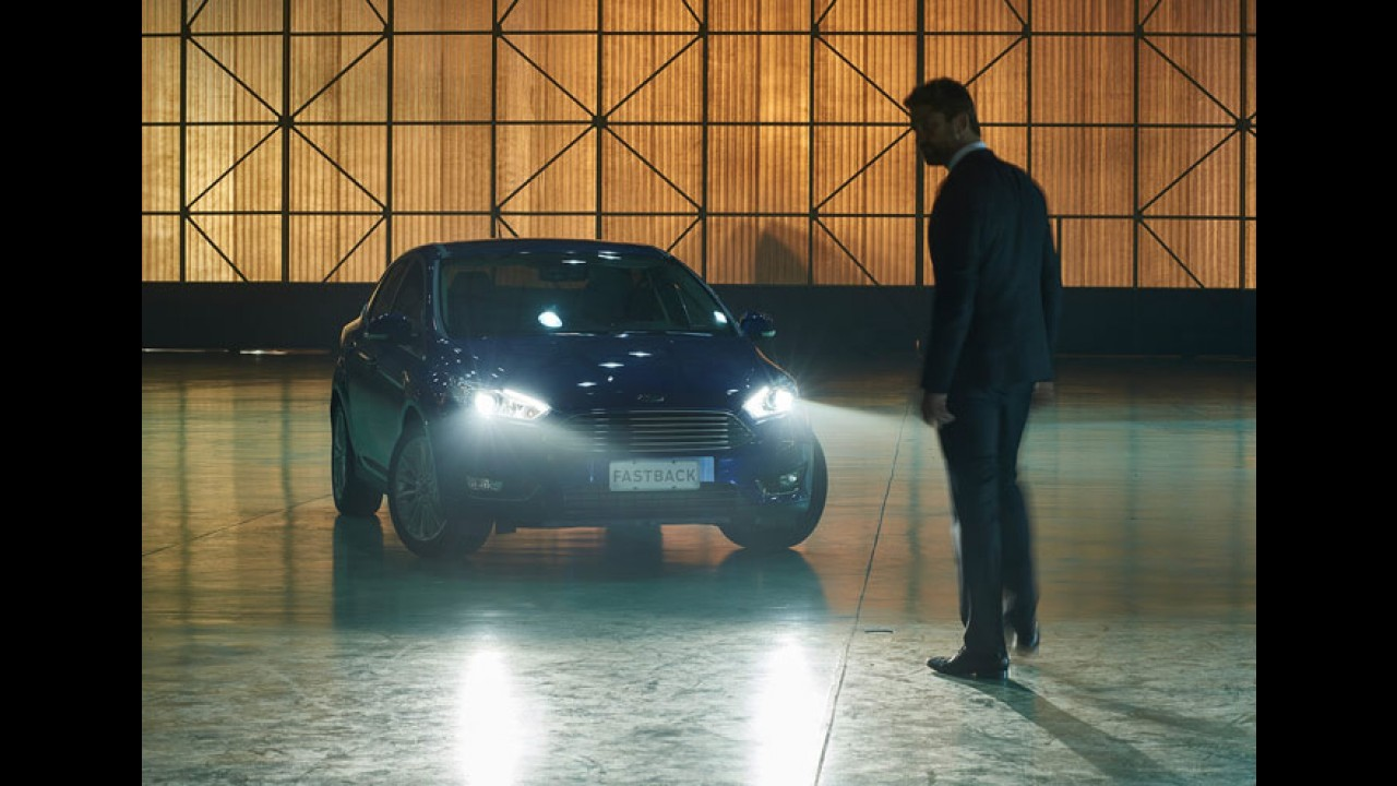 Ford traz astro de Hollywood para promover Focus Fastback