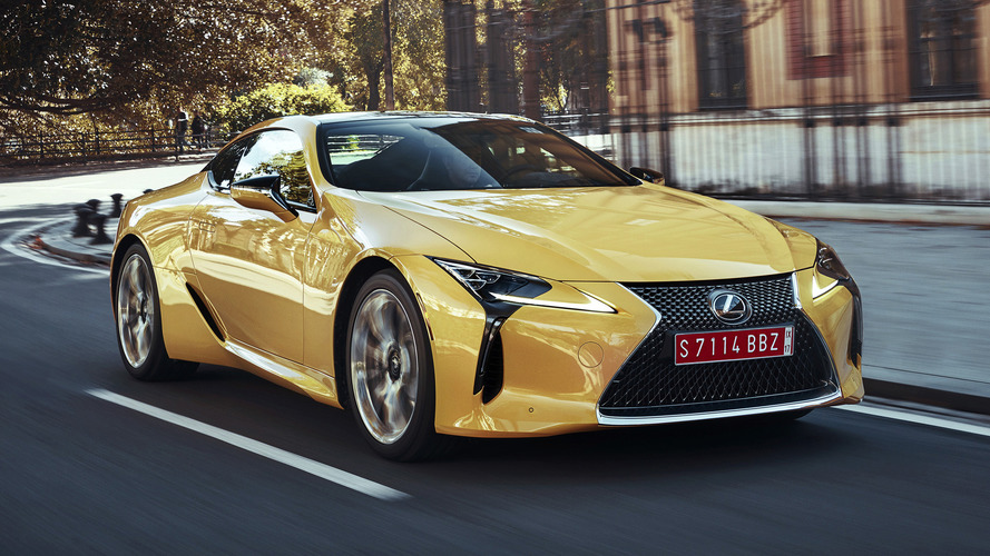 2018 Lexus LC pricing announced, starts below $100k