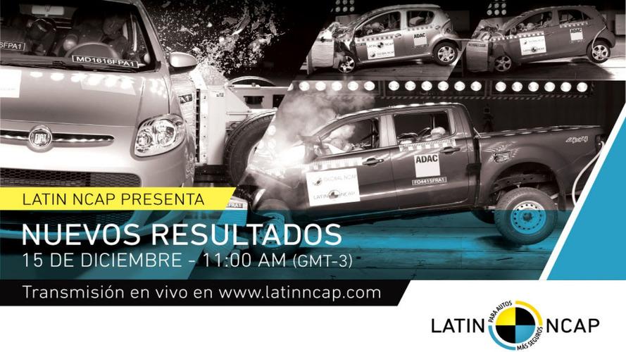 Latin NCAP divulgará resultado de nova avaliação nesta quinta-feira