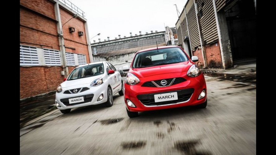 """Nissan March ganha visual colorido com pacote """"Colors"""""""