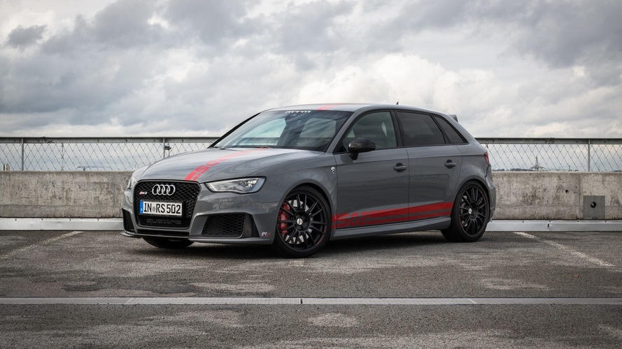 MTM takes Audi RS3 beyond 500 hp