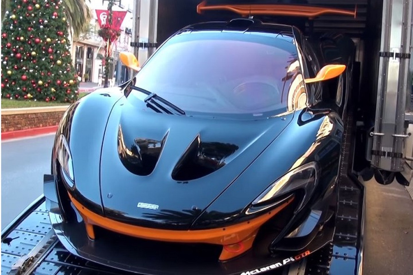 First U.S.-Bound McLaren P1 GTR Delivered: Video