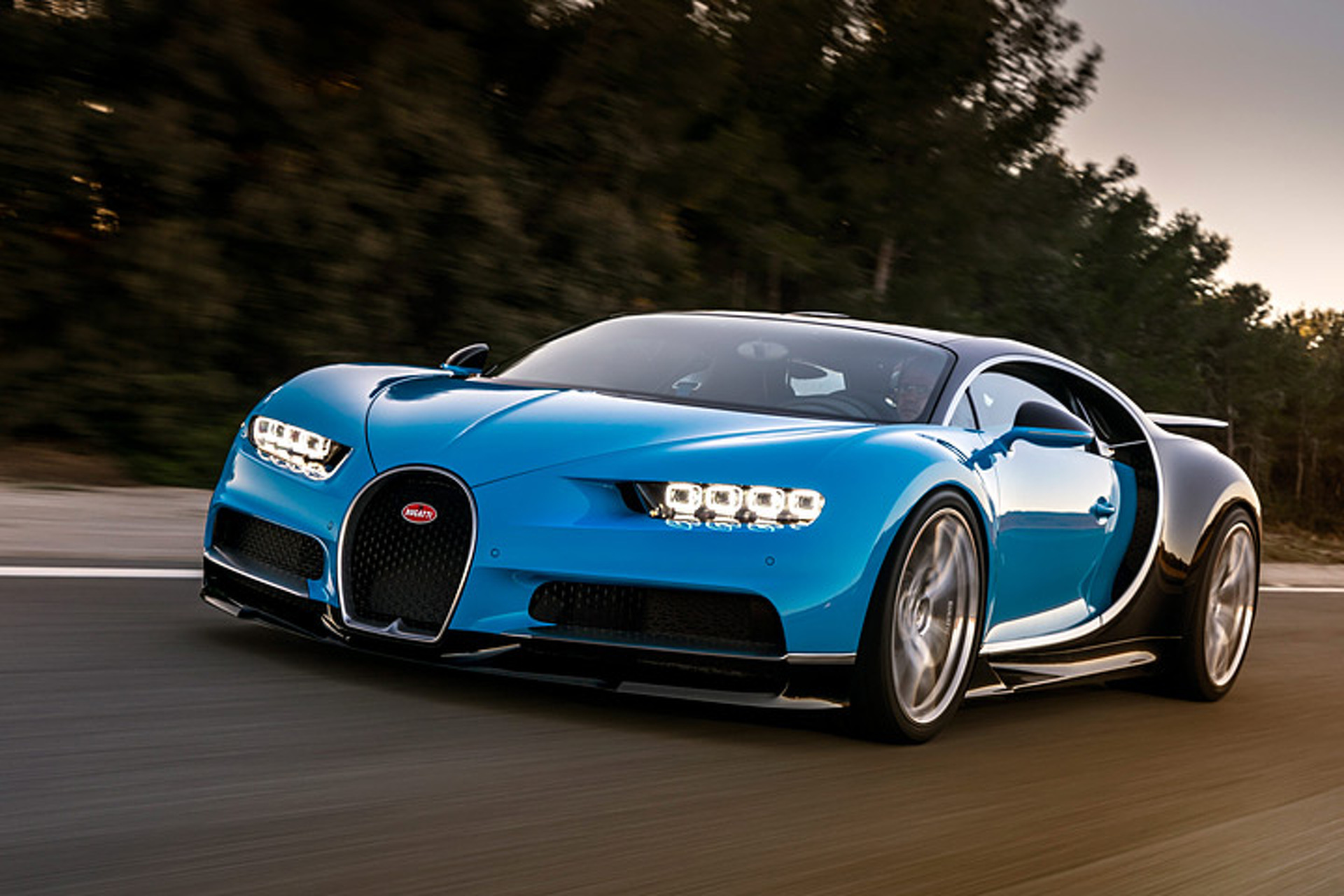 The 2017 Bugatti Chiron in 30 amazing numbers