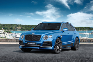 Startech's Bentley Bentayga is Real Attention Getter