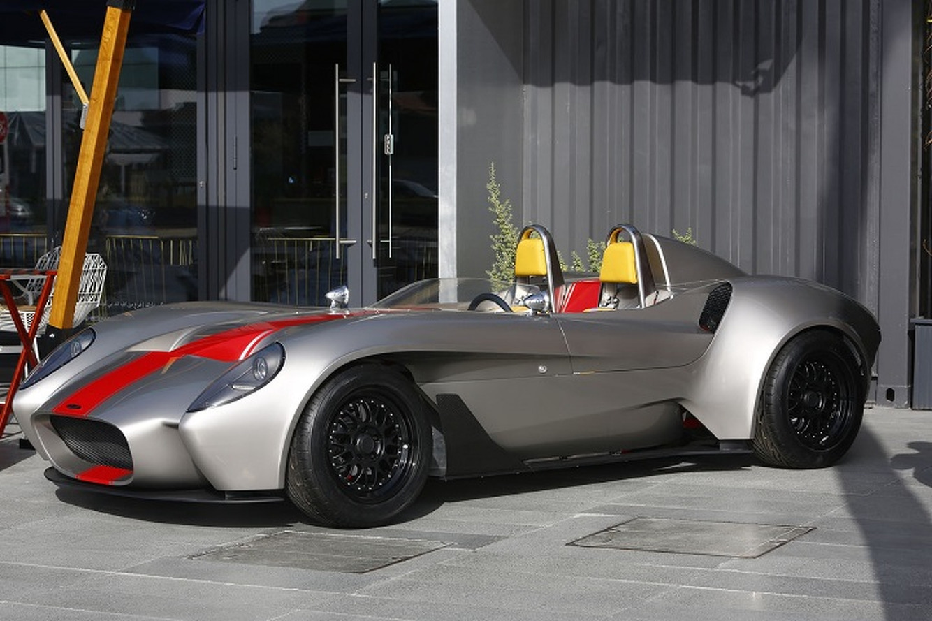 La Jannarelly Design-1 Roadster en vrai
