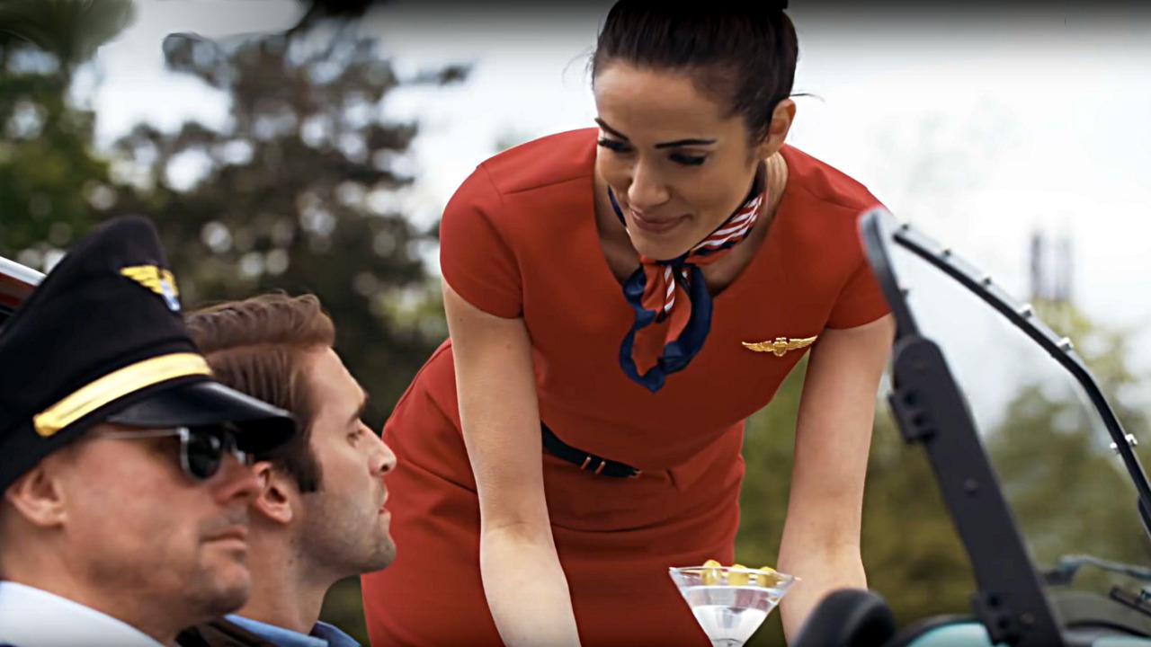 Caterham Airways safety demonstration