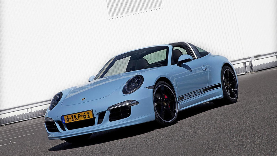 Porsche 911 Targa 4S Exclusive Edition unveiled at AutoRAI 2015