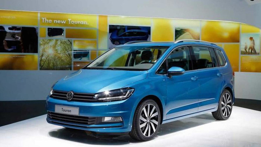 2015 Volkswagen Touran brings its larger footprint to Geneva