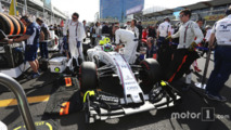 Felipe Massa, Williams FW38 on the grid