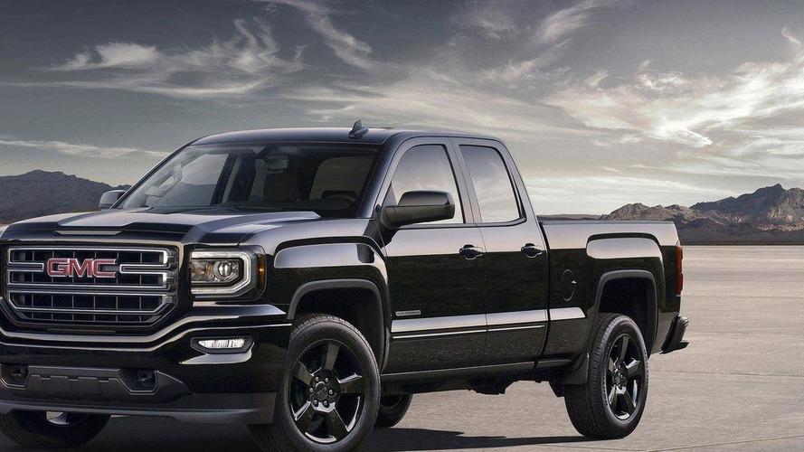 2016 GMC Sierra Elevation Edition unveiled
