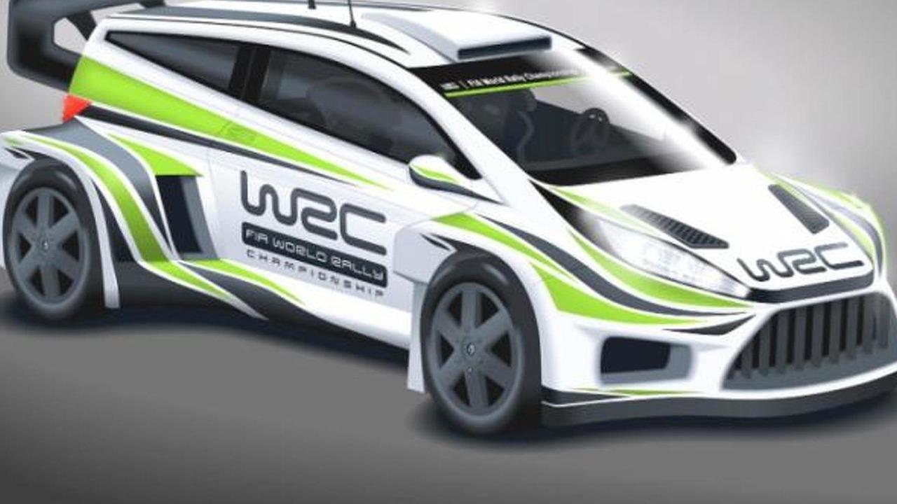 2017 WRC concept car