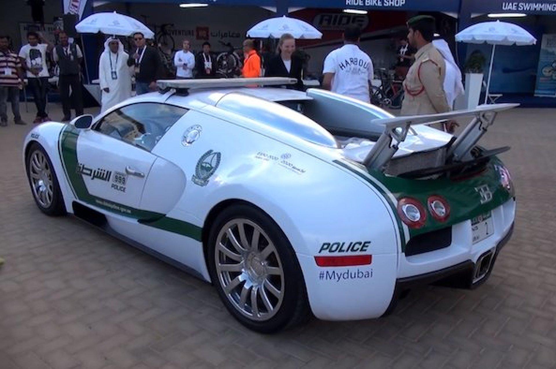 Bugatti veyron police car