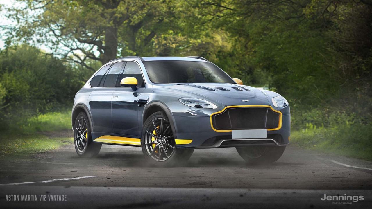 Aston Martin V12 Vantage SUV