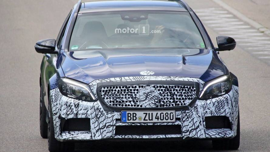 2019 Mercedes-AMG C63 Wagon spy photos