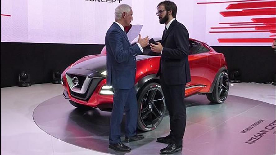 Salone di Francoforte, Nissan Gripz è il futuro dei crossover