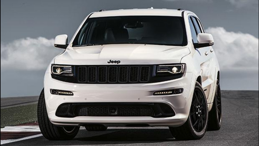 Jeep Grand Cherokee SRT Night, veloce e speciale per Ginevra