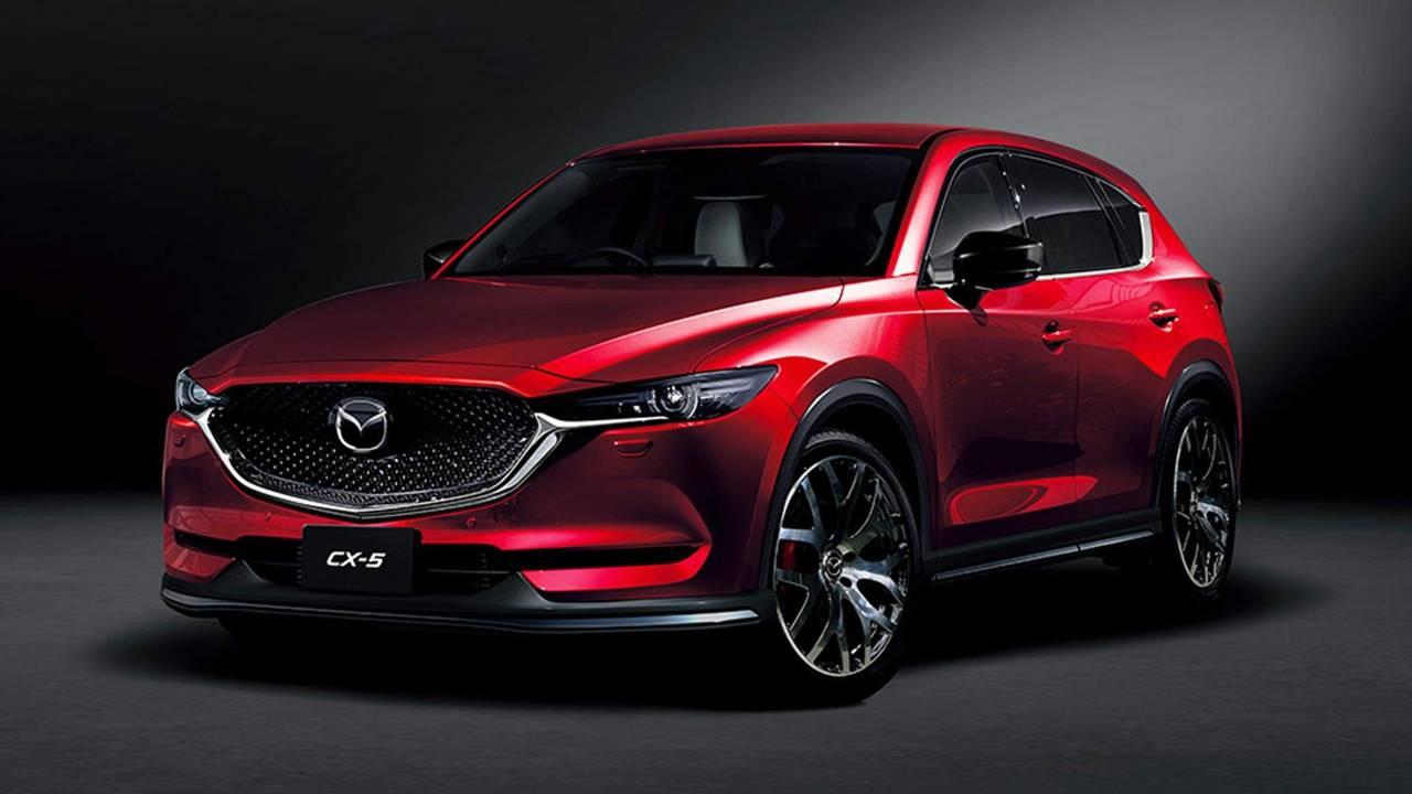 Mazda Cx 5 Custom Style 2018 Motor1 Com Photos