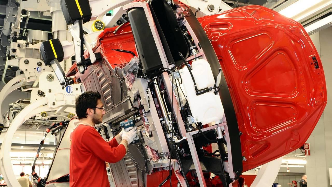 Ferrari production
