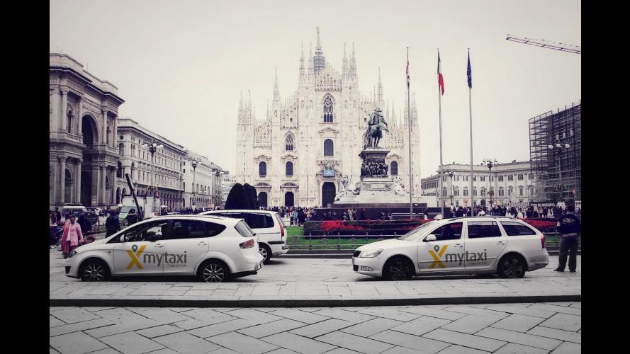Trenitalia e mytaxi, sconto del 50% sulle corse in taxi pagate con App