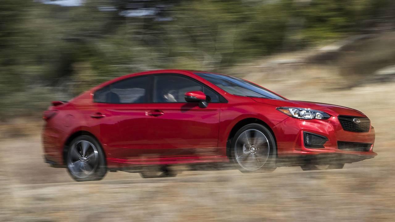 1. 2018 Subaru Impreza 2.0i sedan manual, $19,355