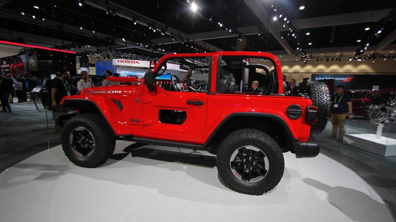 2018 Jeep Wrangler Sheds Weight, Adds Engine Options In L A