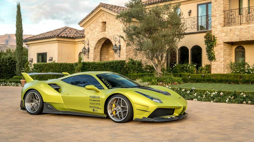 Heavily Modified Ferrari 488 GTB Is Anything But Restrained