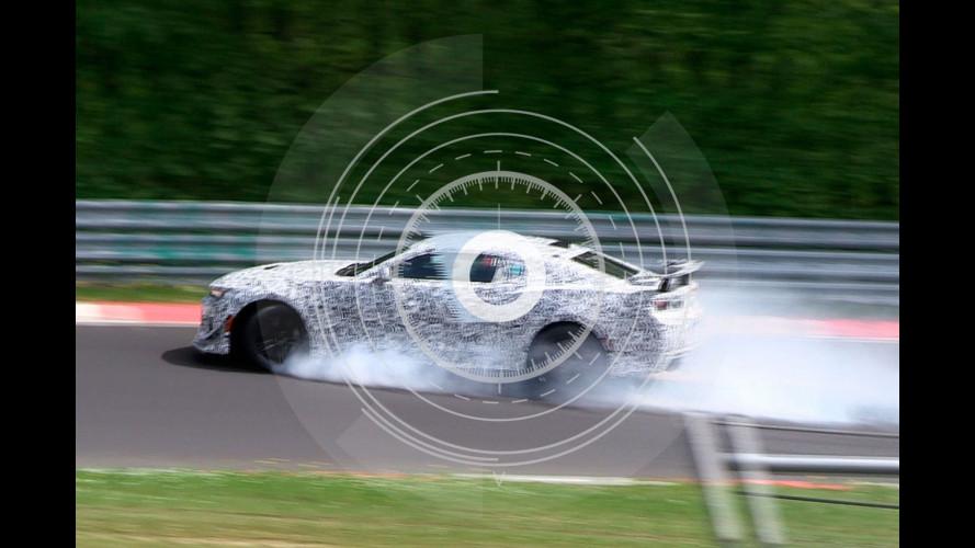 Chevrolet Camaro Z28, incidente al Nurburgring [FOTO SPIA]