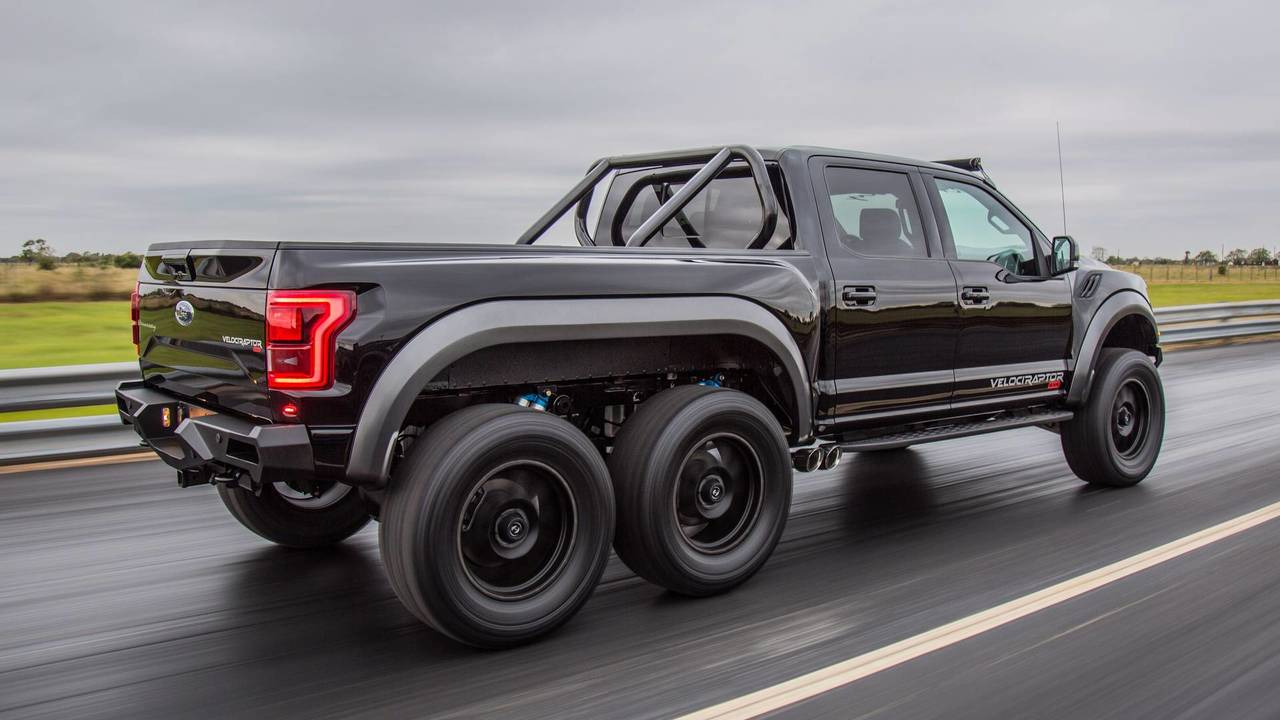 Hennessey Velociraptor 6x6 150 000 La Roue Supplementaire