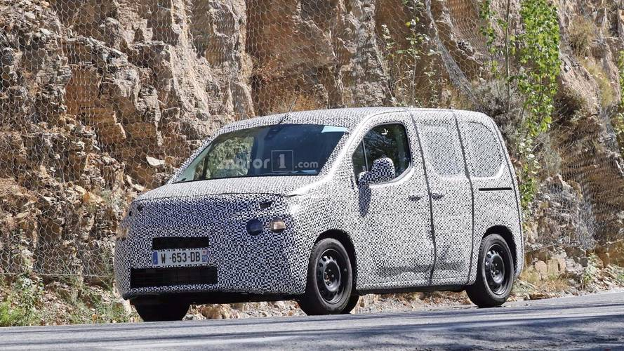 New Citroen Berlingo and Peugeot Partner spied testing
