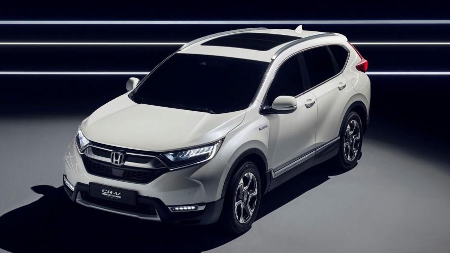 Nuova Honda CR-V, l'anticipazione è ibrida