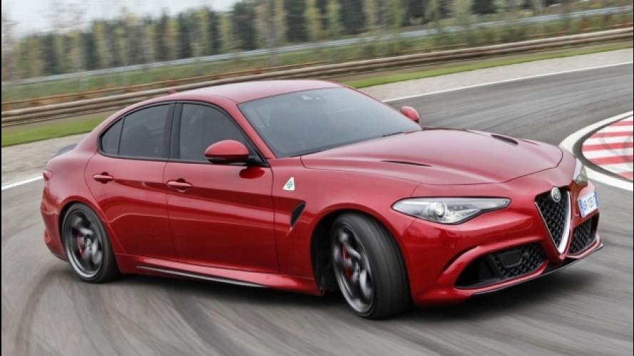 Alfa Romeo Giulia Quadrifoglio, in UK la vendono così