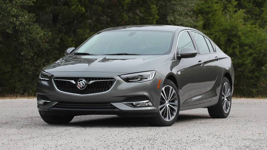 2019 Buick Regal Avenir Listed In Gm S Fleet Order Guide