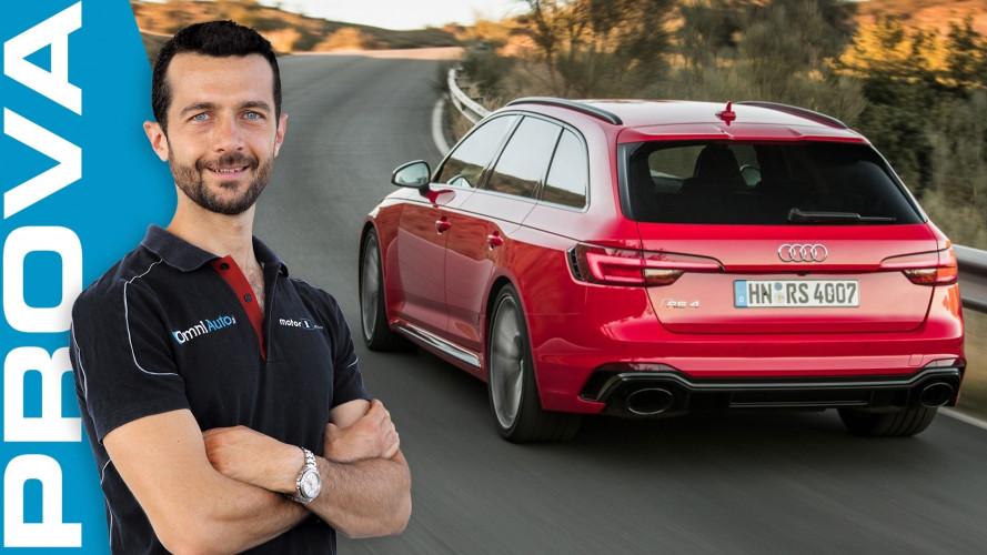 Audi RS 4 Avant, la