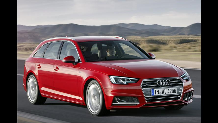 Sitzprobe: Der neue Audi A4