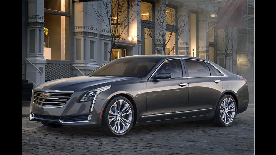 Cadillac CT6: Neuer Luxus-Liner startet 2016